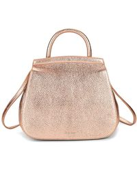 Steven Alan - Kate Convertible Metallic Leather Backpack - Lyst