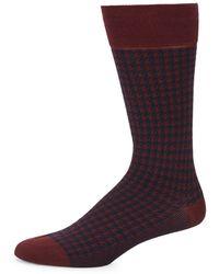 Bruno Magli - Geometric Dress Socks - Lyst