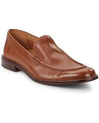 Cole Haan - Rollins Leather Slip-on Loafers - Lyst