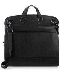 Robert Graham - Embossed Leather Foldable Garment Bag - Lyst
