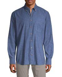 Bugatti - Patch Pocket Button-down Shirt - Lyst