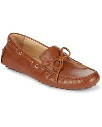Cole Haan - Garnet Ii Leather Driver Loafers - Lyst