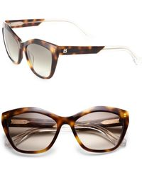 137b38617ac4 Michael Kors Mk 6042 Smoke Havana Nya Cat Eye Sunglasses - Lyst