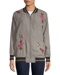 Billy T - Floral-embroidered Jacket - Lyst