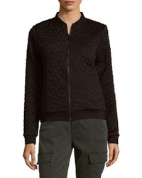 Cynthia Rowley - Quilted Bomber - Lyst