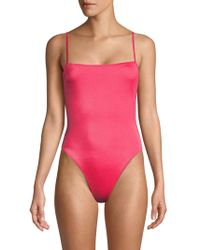 Solid & Striped The Chelsea Solid One-piece Swimsuit