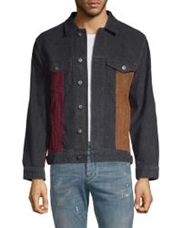 Barney Cools - Colorblock Corduroy Jacket - Lyst