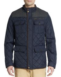 Vince Camuto - Quilted Nylon Jacket - Lyst