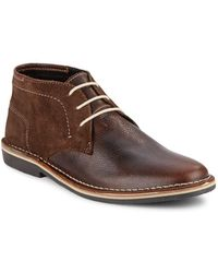 Steve Madden - Henrie Leather & Suede Chukka Boots - Lyst