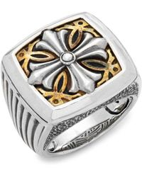 Effy - Sterling Silver Band Ring - Lyst