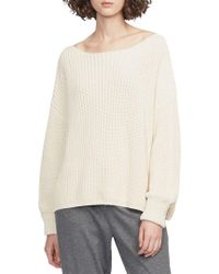 French Connection - Millie Mozart Long-sleeve Cotton Sweater - Lyst