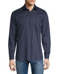 Jared Lang - Stripe Long Sleeve Shirt - Lyst