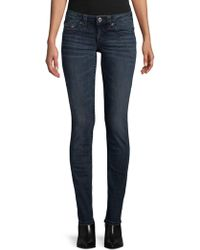 True Religion - Mid-rise Skinny Jeans - Lyst