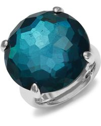 Ippolita - Blue Doublet Quartz Cocktail Ring - Lyst