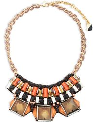 Nocturne - Celia Statement Necklace - Lyst