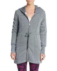 Kensie - Cotton Jersey Hooded Jacket - Lyst