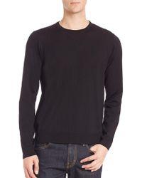 Saks Fifth Avenue - Long Sleeve Merino Wool Sweater - Lyst
