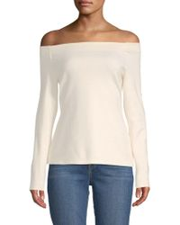 L'Agence - Cynthia Off-the-shoulder Top - Lyst