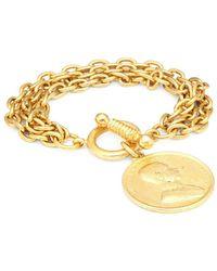 Ben-Amun - Moroccan Coin Charm Bracelet - Lyst