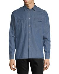 J.Lindeberg - Casual Cotton Button-down Shirt - Lyst
