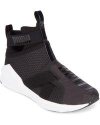 52e24107b5c6 PUMA - Fierce Strap Signature High-top Sneakers - Lyst