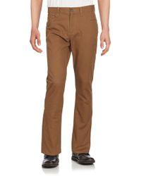 Perry Ellis - Slim-fit Five-pocket Trousers - Lyst