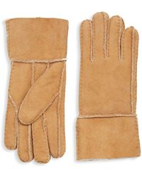 Surell - Shearling Gloves - Lyst