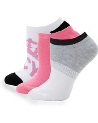 Juicy Couture - 3-pack Classic Ankle Socks - Lyst