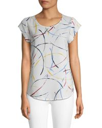 Joie - Rancher Printed Top - Lyst