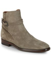 Frye - Wright Jodhpur Suede Ankle Boots - Lyst