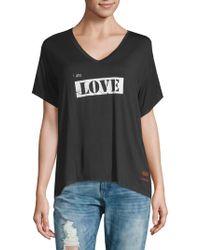 Peace Love World - Relax Hi-lo I Am Love T-shirt - Lyst
