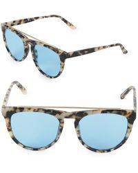 Smoke X Mirrors - Road Runner 53mm Oval Sunglasses - Lyst