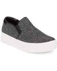 460e5701c28 Steve Madden - Glimmy Slip On Sneakers - Lyst