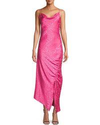Lea & Viola - Shirred-side Cami Dress - Lyst