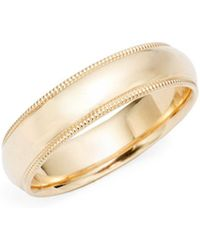 Saks Fifth Avenue - 14k Yellow Gold Band Ring - Lyst