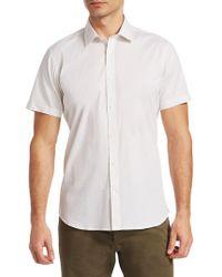 Saks Fifth Avenue - Modern Star-print Short-sleeve Shirt - Lyst