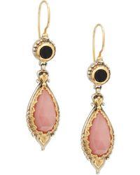 Konstantino - Amphitrite Agate, Onyx, 18k Yellow Gold & Sterling Silver Earrings - Lyst