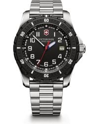 Victorinox - Maverick Sport Stainless Steel Watch - Lyst