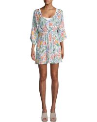 Onia - Alessandra Printed Coverup - Lyst