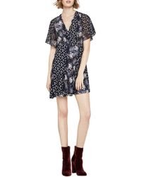 BCBGeneration - Floral Wrap Dress - Lyst