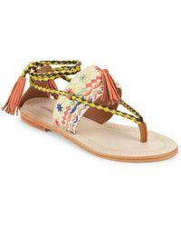 Antik Batik - Tarata Tasseled Sandals - Lyst