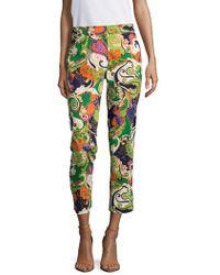 Trina Turk | Moss Print Pants | Lyst