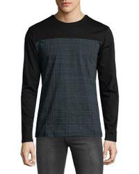 Antony Morato - Contrast Long-sleeve Shirt - Lyst