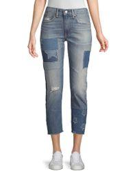 Ralph Lauren - The Waverly Straight Crop Jeans - Lyst