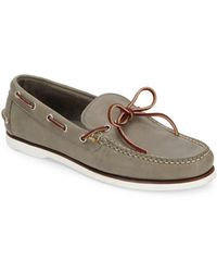 Eastland - Tie-up Leather Boat Shoes - Lyst
