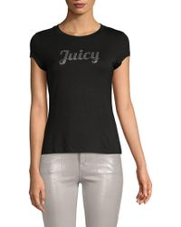 Juicy Couture - Logo Roundneck Tee - Lyst