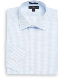 Saks Fifth Avenue - Slim-fit Gingham Cotton Dress Shirt - Lyst