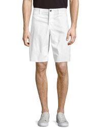 Original Paperbacks - St. Barts Cotton Twill Shorts - Lyst