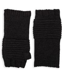 John Varvatos - Textured Gloves - Lyst