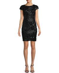 Calvin Klein - Sequin Mini Dress - Lyst